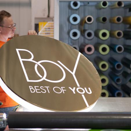 BOY light box