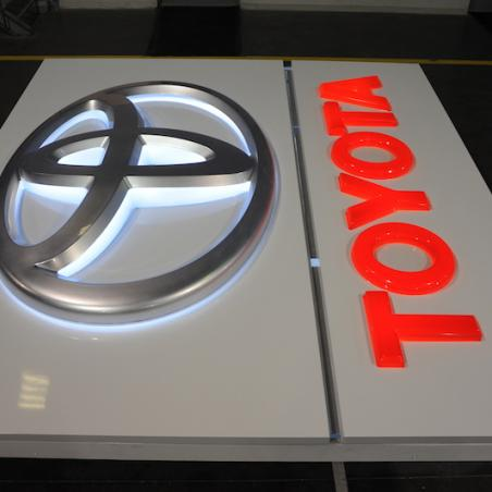 Toyota light box